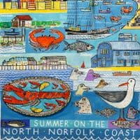 Summer on the North Norfolk Coast | A3 Print | Andrew Ruffhead